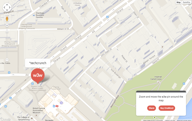 Location Pinpointing Startup what3words Adds $1M More To Its ... on map darfur, map vikings, map earth,