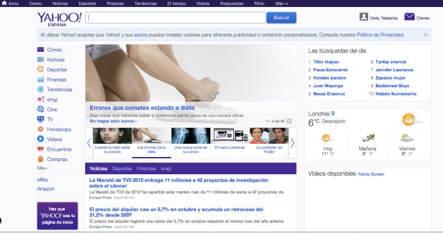 Yahoo Spain