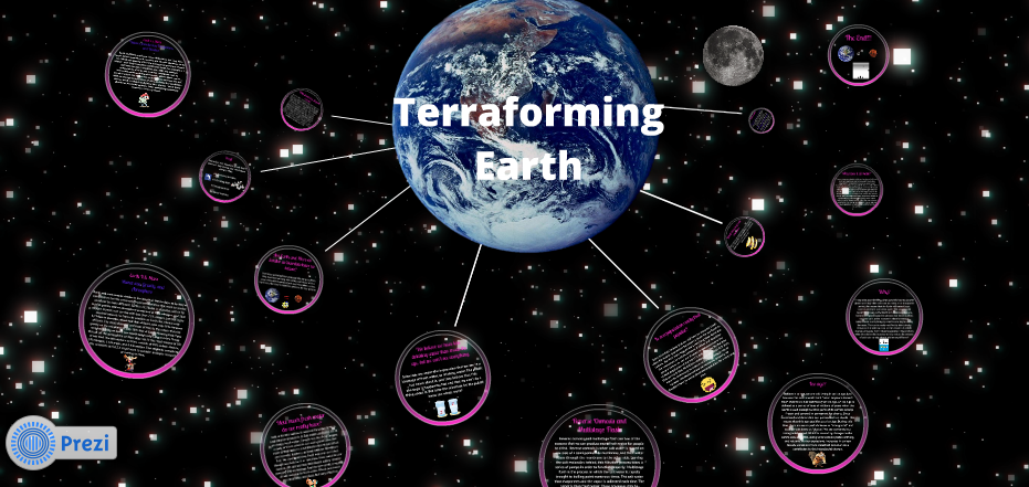 earth on prezi