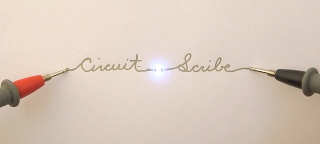 circuit scribe lets you prototype electronics by doodling on theCircuit Scribe Is A Rollerball Pen That Writes In Conductive Ink 3 #20