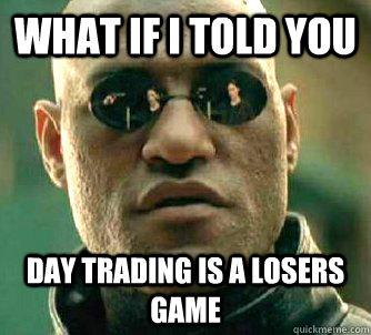 Trader fram efter hoten ar en idiot