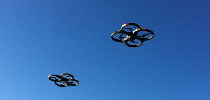 MIT creates a control algorithm for drone swarms | TechCrunch