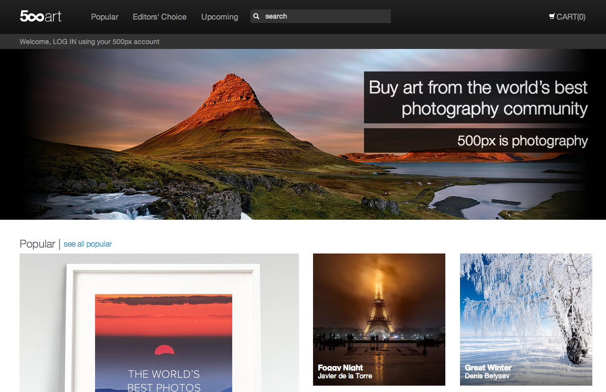 500px Plans Aggressive Consumer Market Expansion In 2014, We Take A