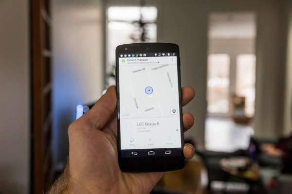 google releases its find my iphone style android device manager app in the play store techcrunch. Black Bedroom Furniture Sets. Home Design Ideas