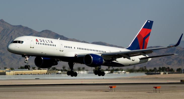 Delta is testing free WiFi on flights this month