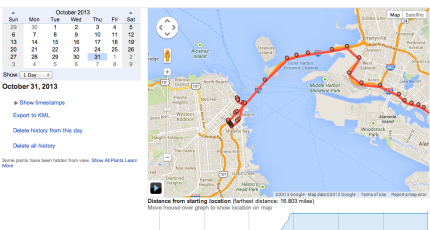 Google's Location History Browser Is A Minute-By-Minute Map Of Your