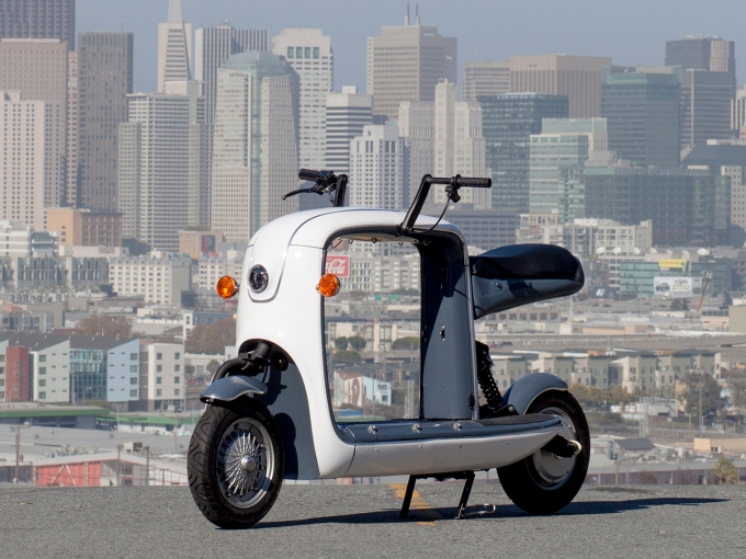 Meet Kubo The Crowdfunded Electric Cargo Scooter Made By