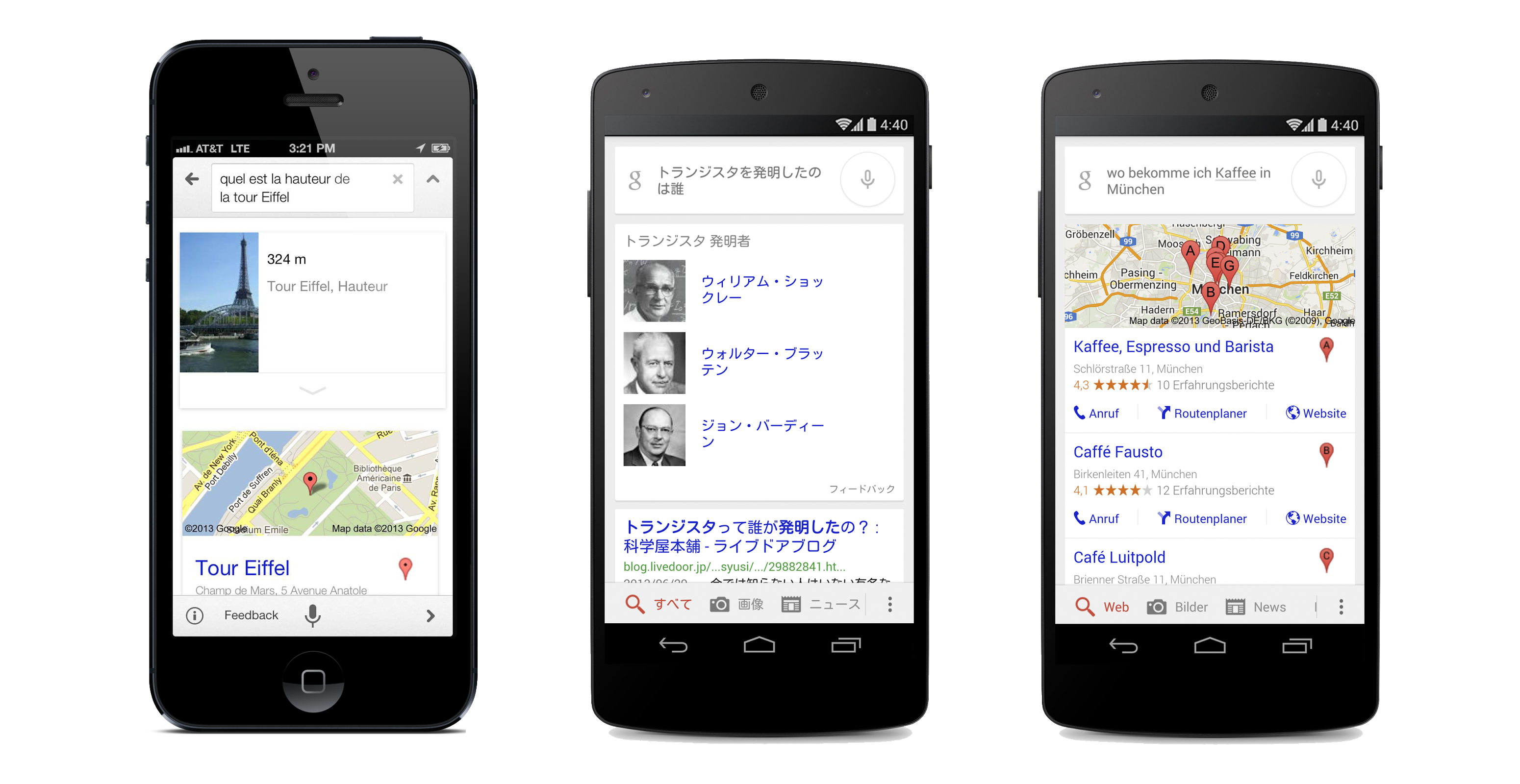 Google's Voice Search On Android And iOS Can Now Answer Questions In