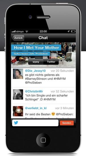 Scharfer chat