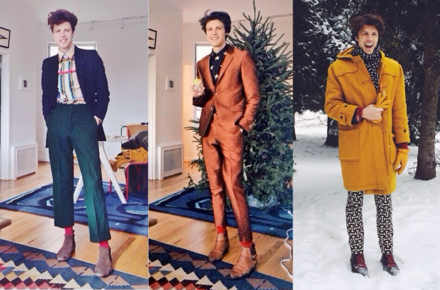 Alexandre Roche Outfits