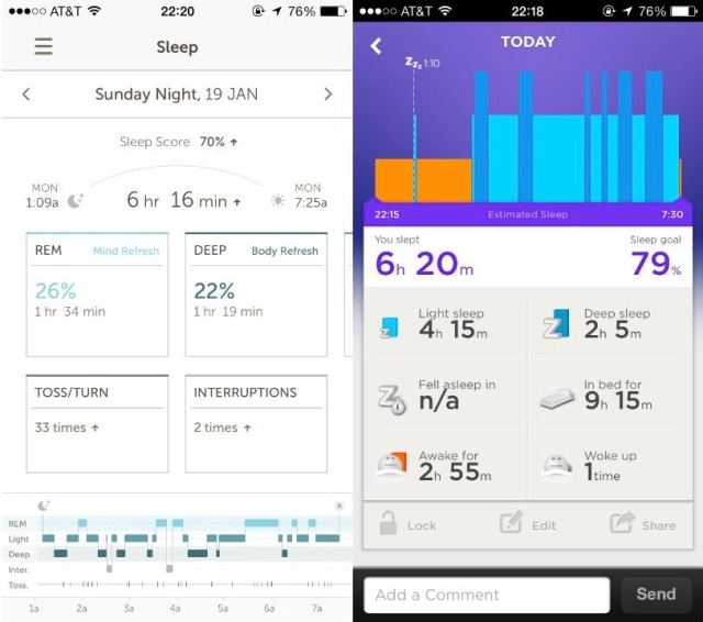 basis sleep tracker