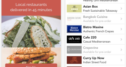 Y Combinator-Backed Food Delivery Startup DoorDash Launches