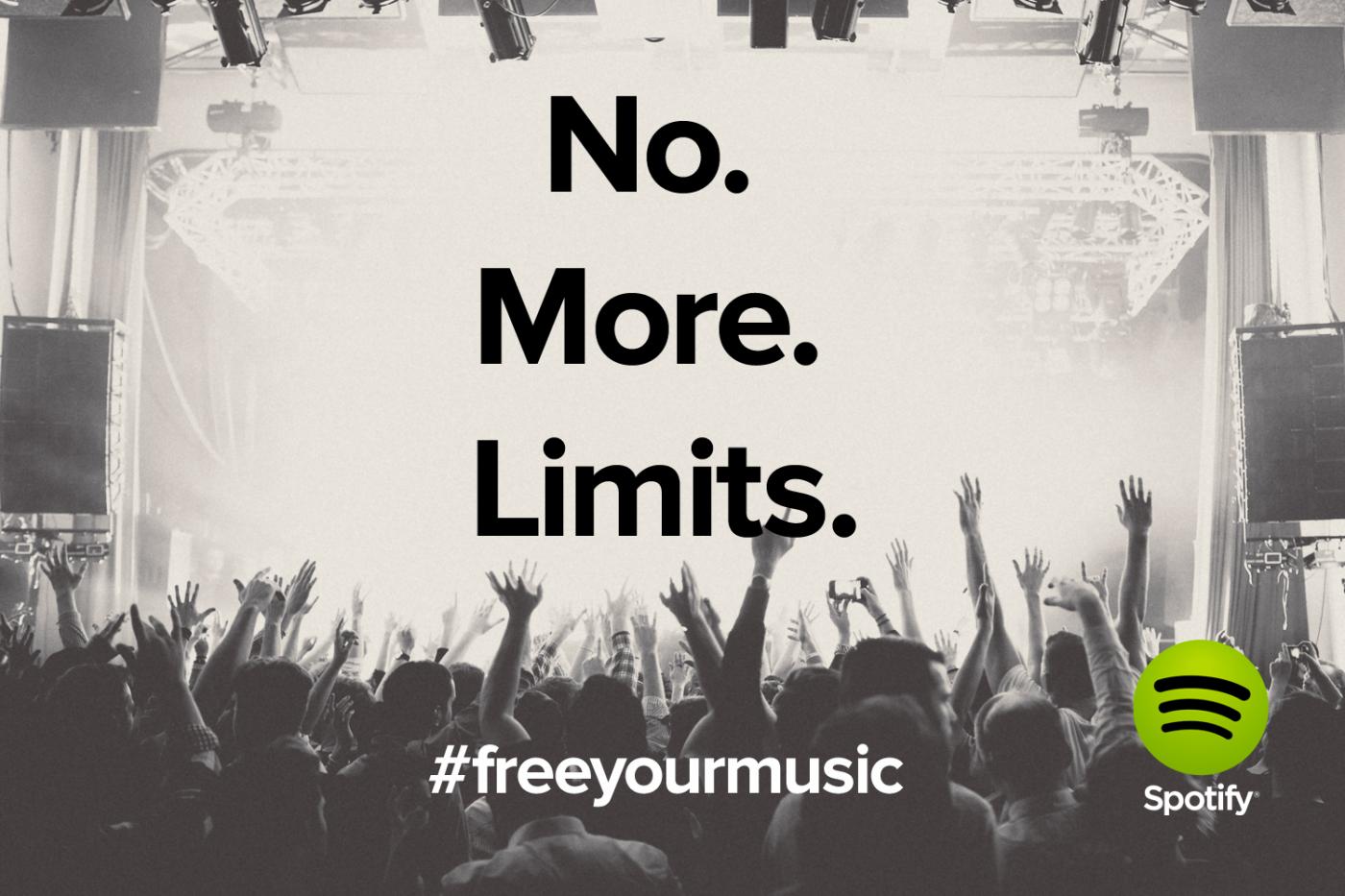 Spotify Drops Free Web Listening Time Limit Everywhere – A Big