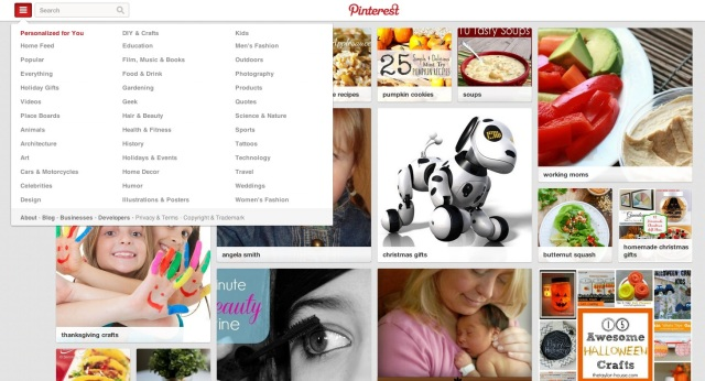 pinterest-personalized