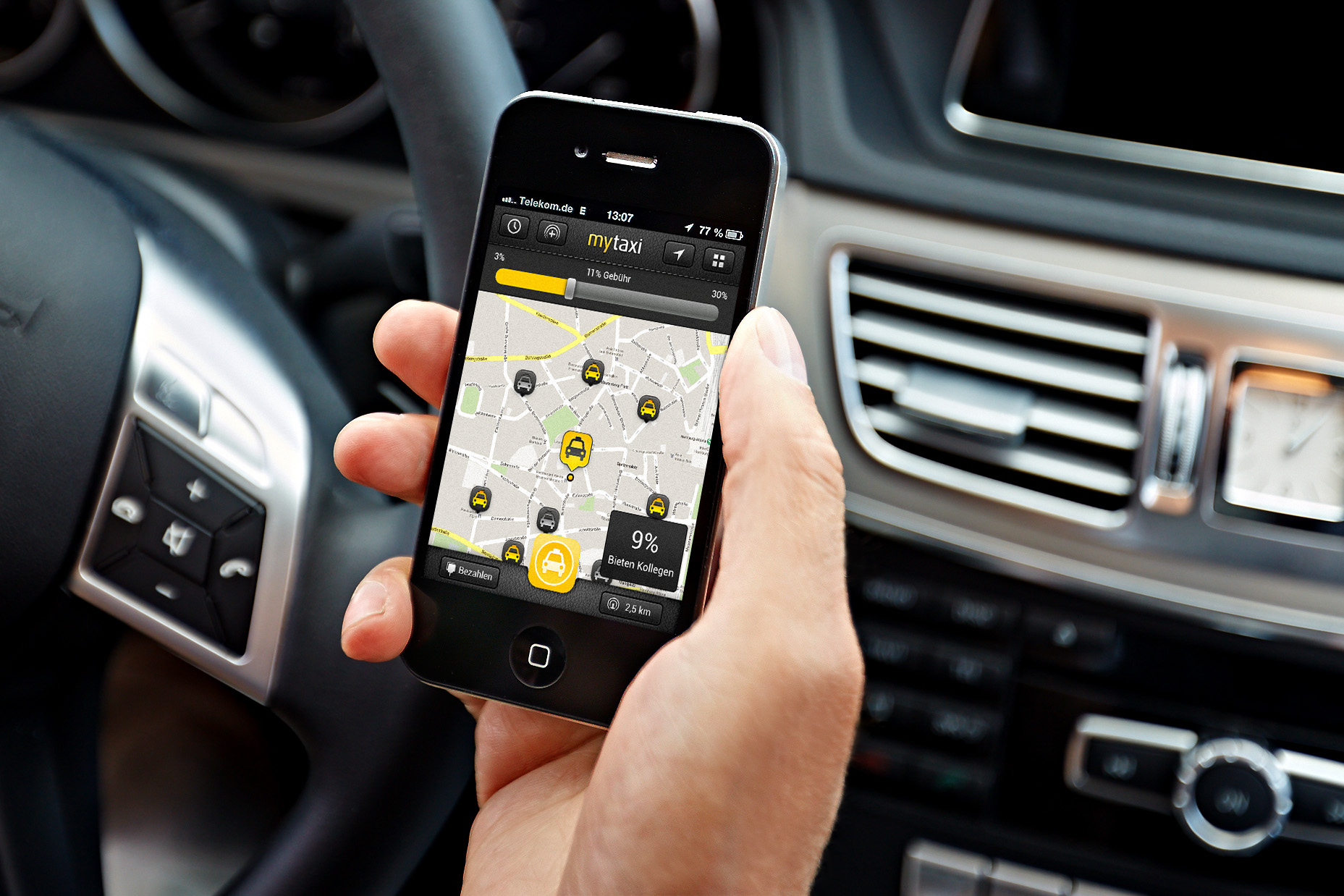MyTaxi: Fuss about New Fee System