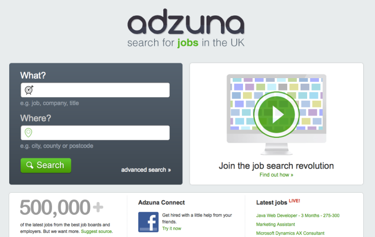 Adzuna Forms Jv With Australian Media Giant Fairfax Expands Job Search Engine To Five New Countries Techcrunch