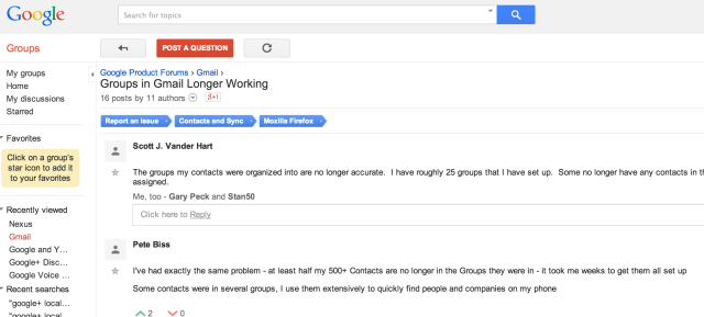 Gmail And Google Apps Users Complain Of Bug Which Sees