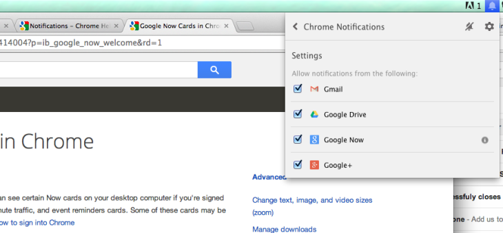 Google Now Makes A Desktop Appearance In Chrome Canary
