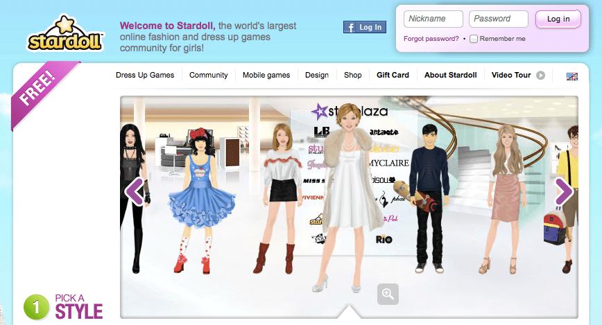 Girls Virtual World Stardoll Transfers UK/U S  Ad Sales Out Of House