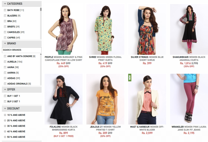 021ab13b8f India Fashion Portal Myntra Raises  50M On A  200M Valuation As ...