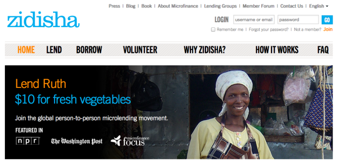 Zidisha Launches A Kickstarter Style Micro Lending Platform For Low Income Entrepreneurs In Developing Countries