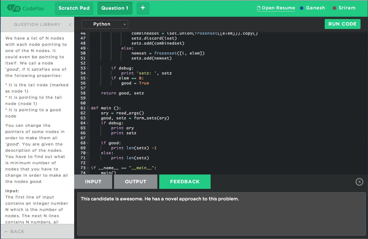 CodePairScreenshot