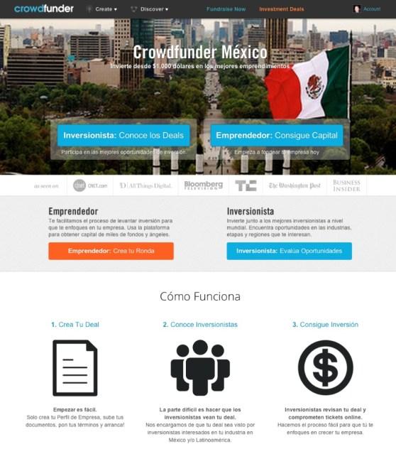Crowdfunder Mexico