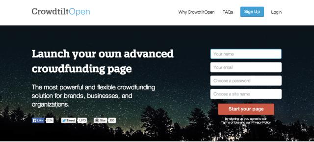crowdtiltopen homepage