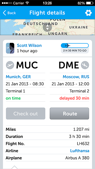 mileways the social app for frequent flyers adds flight