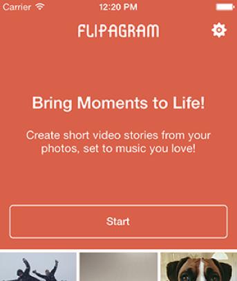 une video flipagram