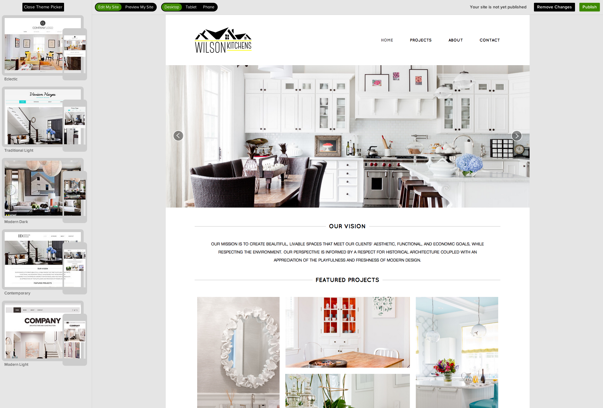 Houzz Launches Site Designer Offers Free Websites For Home Professionals Techcrunch,Craftsman Home Designs