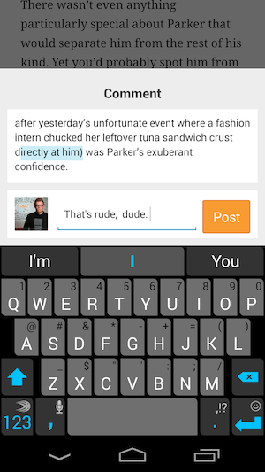 Wattpad Updates Its Social Reading Apps With Inline Commenting And