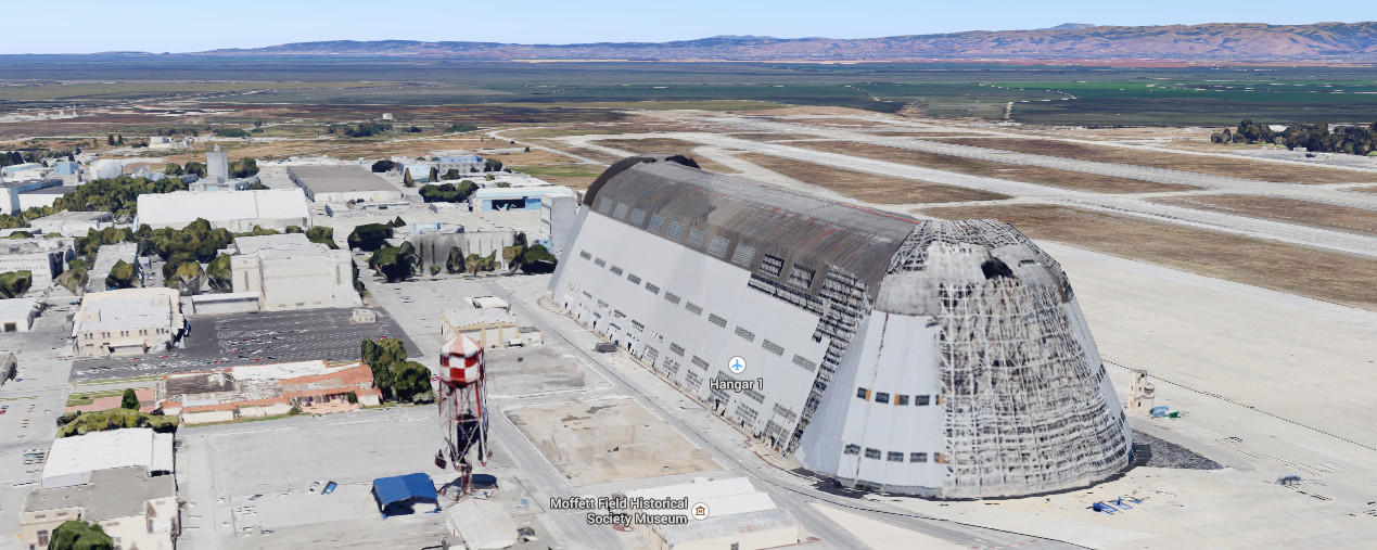 Google Takes Over Operations Of Moffett Airfield From Nasa Will Invest 200m Into The Site