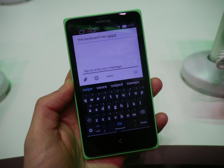 Nokias Mobile Ui Mixology Serves Up A Hybrid Family Of Devices To Nokia Xl Cyan X Keyboard
