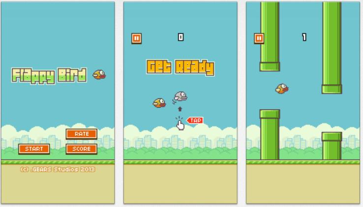 Growth hack Flappy Bird