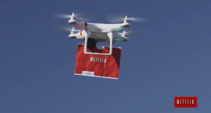 Netflix's Drone Delivery Video Shows A Different Side Of
