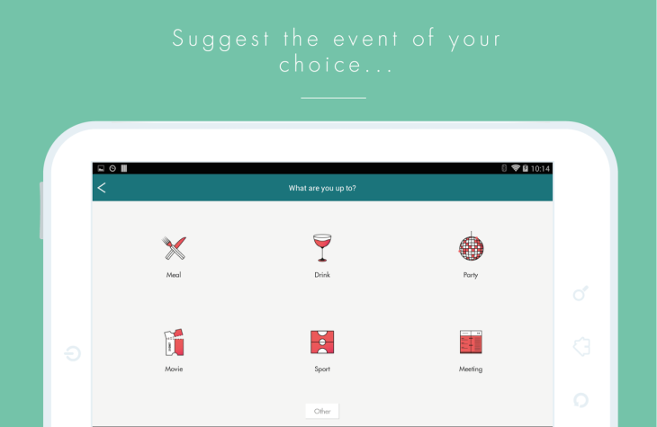 WePopp Adds Restaurant Booking Via OpenTable TechCrunch - Open table app for android