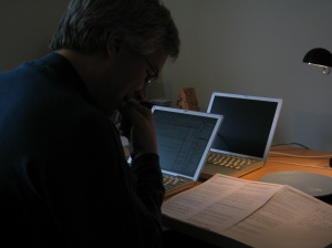 Trevor Blackwell reviewing YC's first applications in 2005