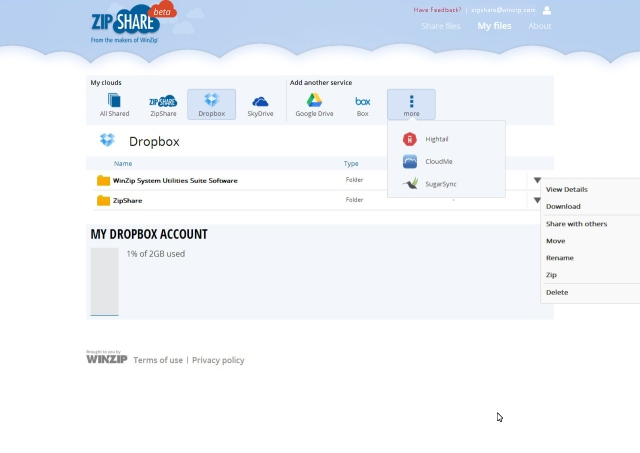 WinZip Moves To The Cloud With Launch Of ZipShare, A Way To Zip