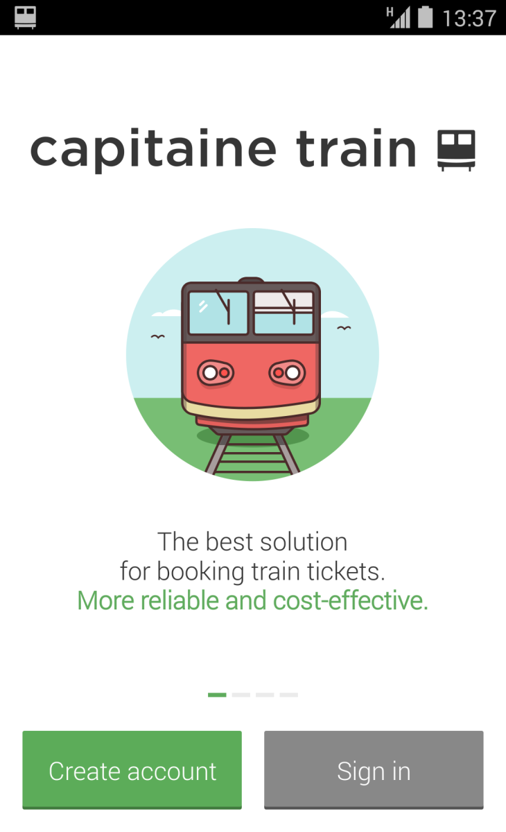 Capitaine Train Releases Android App To Book Your Train