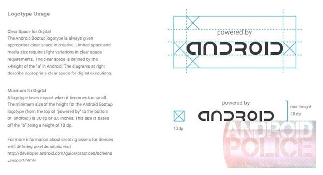 android branding
