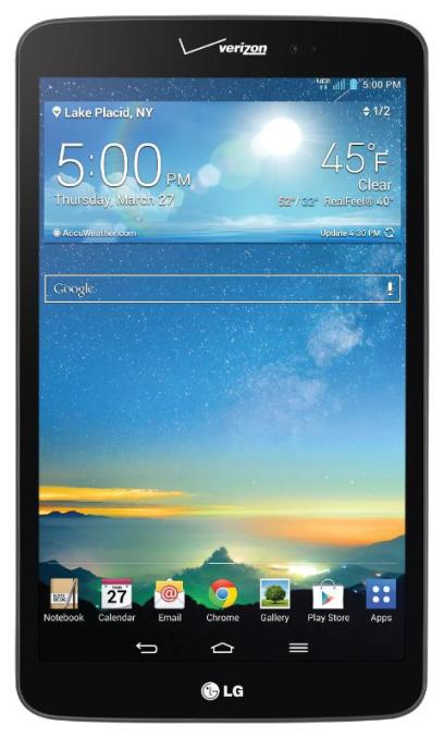LG ELECTRONICS USA LG G PAD 8.3 LTE TABLET