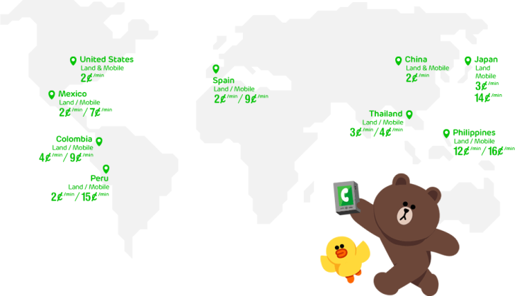 LINE's Cheap Voice Service, LINE Call, Now Live For Android
