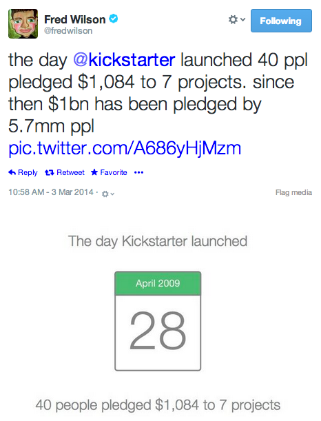 wilson early kickstarter stat
