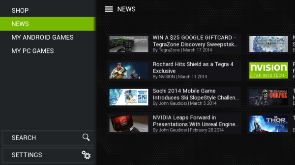 Nvidia Shield Update To Add Remote Streaming, More To The