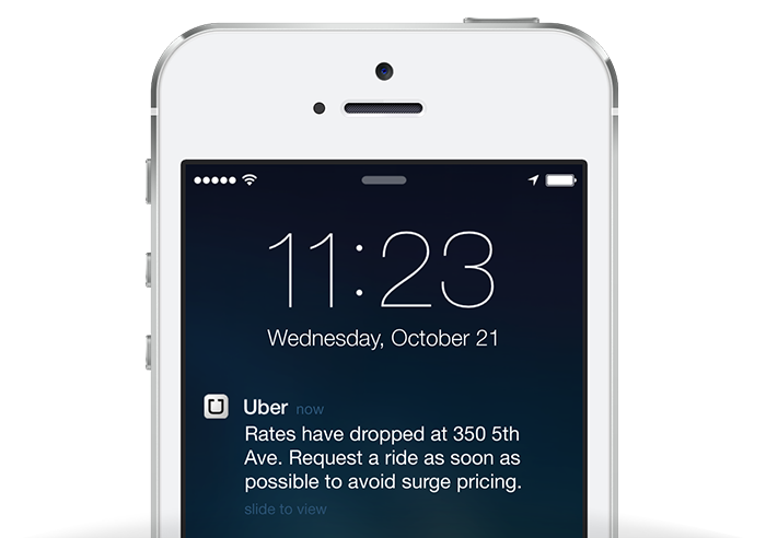 Techcrunch Passengers Adds Pricing When Let Notifications To Surge Ends Uber Push Know