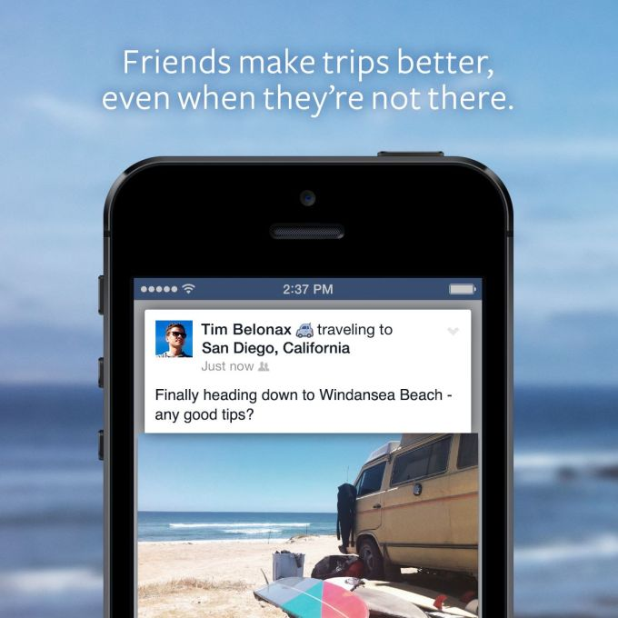 "Now Facebook Wants You To Share Where You're ""Traveling To"