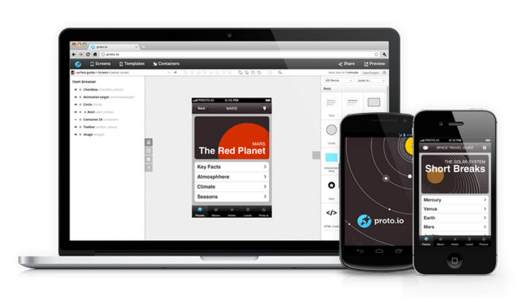 Proto io Lets You Create Mobile App Prototypes And See Them