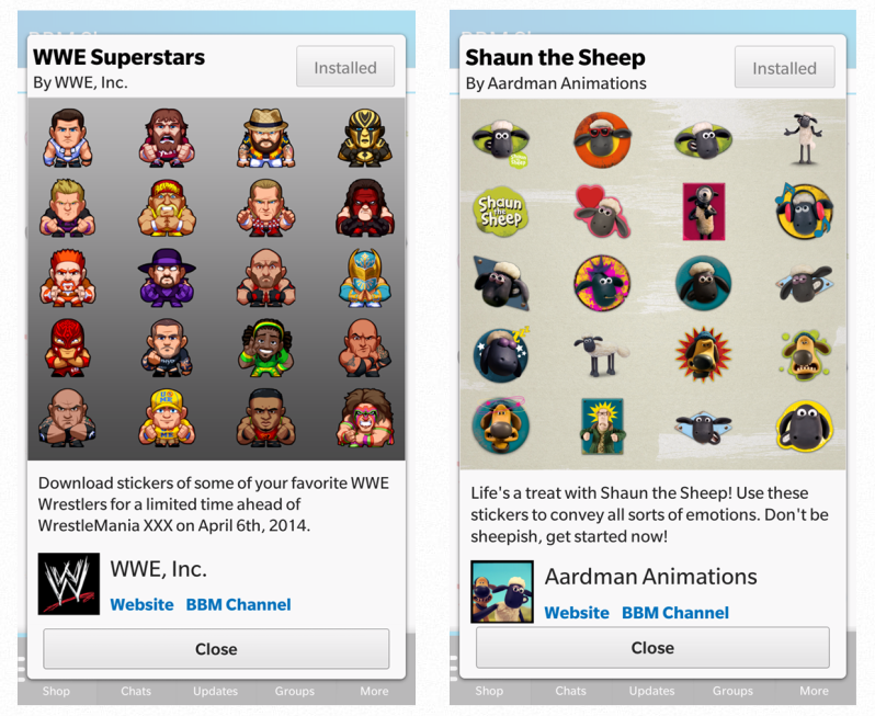 BBM Gets Stickers, Larger File Attachments And Group Photo