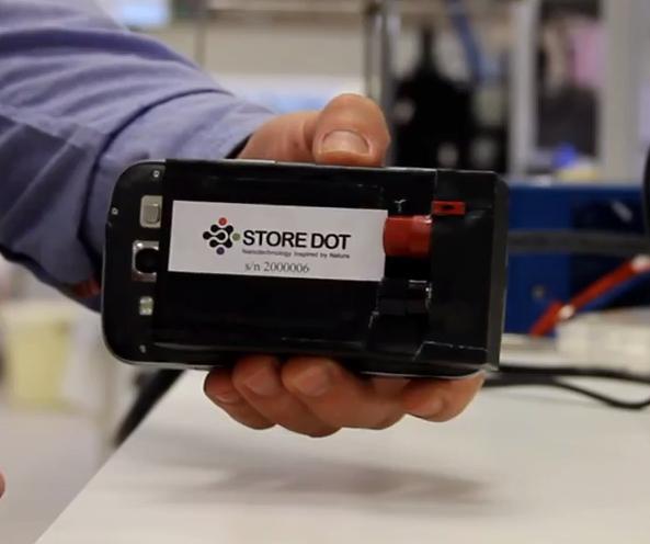 StoreDot: стартап, который создает уникальные зарядные устройства